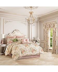 J Queen Floral Park  Queen 4 Piece Comforter Set