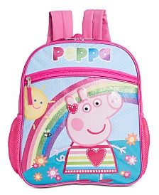 Accessory Innovations Little Girls Peppa Pig Graphic Backpack