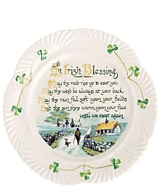An Irish Blessing Plate