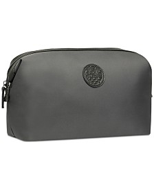 Receive a Complimentary Toiletry Bag with any jumbo spray purchase from any Vince Camuto Men's fragrance collection