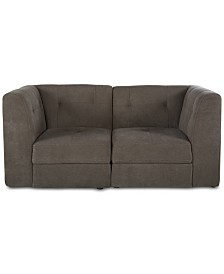 Bradford 2-Pc. Fabric Loveseat