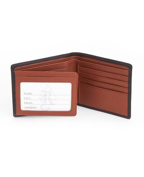 Royce Leather Royce New York RFID Blocking Bifold Wallet