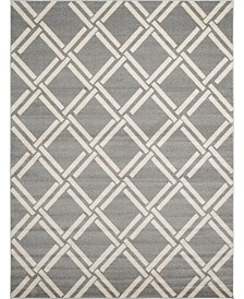 Bridgeport Home Arbor Arb4 Gray 9' x 12' Area Rug