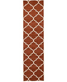 "Arbor Arb3 Rust Red 2' 7"" x 10' Runner Area Rug"