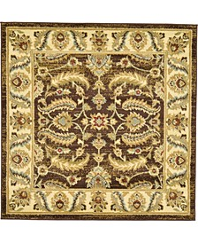 Passage Psg1 Brown 4' x 4' Square Area Rug