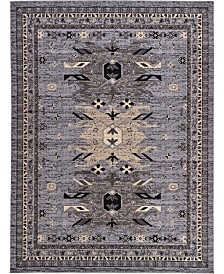 "Bridgeport Home Charvi Chr1 Gray 9' 10"" x 13' Area Rug"