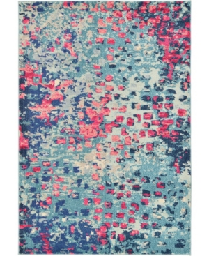 Bridgeport Home Adah Ada1 Blue 4' x 6' Area Rug