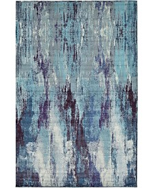 "Bridgeport Home Adah Ada2 Blue 10' 6"" x 16' 5"" Area Rug"