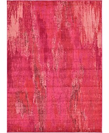 "Bridgeport Home Adah Ada2 Pink 8' x 11' 4"" Area Rug"