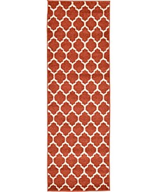 Arbor Arb1 Light Terracotta 2' x 6' Runner Area Rug