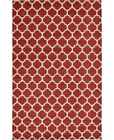 "Arbor Arb1 Red 10' 6"" x 16' 5"" Area Rug"