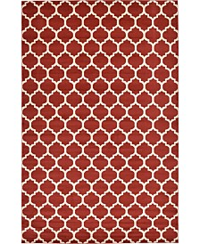 "Bridgeport Home Arbor Arb1 Red 10' 6"" x 16' 5"" Area Rug"