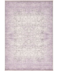 "Norston Nor3 Purple 8' x 11' 4"" Area Rug"