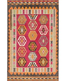 CLOSEOUT! Arcata Arc8 Red 5' x 8' Area Rug