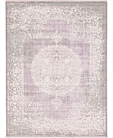 Norston Nor4 Purple 10' x 13' Area Rug