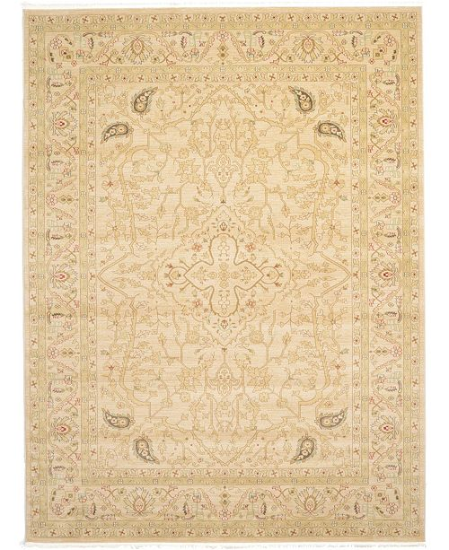 Bridgeport Home Orwyn Orw7 Beige 9' x 12' Area Rug