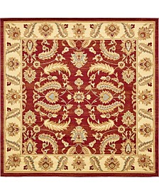 Bridgeport Home Passage Psg1 Red 10' x 10' Square Area Rug