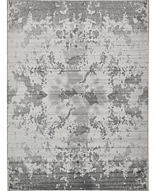Bridgeport Home Politan Pol8 Light Gray 9' x 12' Area Rug