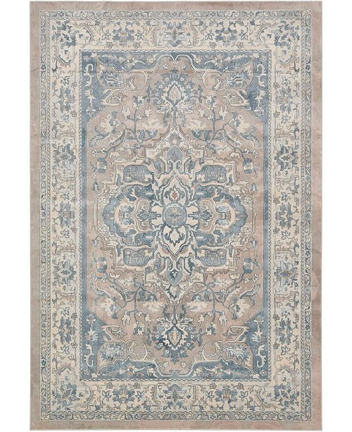 Bridgeport Home Caan Can1 Tan 7' x 10' Area Rug