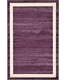 Lyon Lyo5 Violet 5' x 8' Area Rug