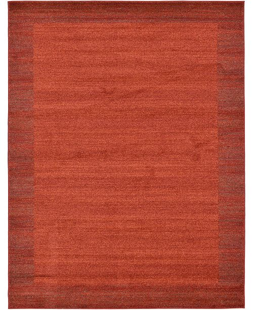 Bridgeport Home Lyon Lyo4 Terracotta 10' x 13' Area Rug