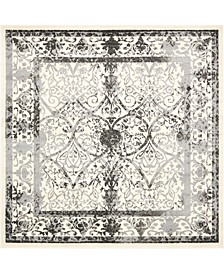Aldrose Ald6 Gray 8' x 8' Square Area Rug