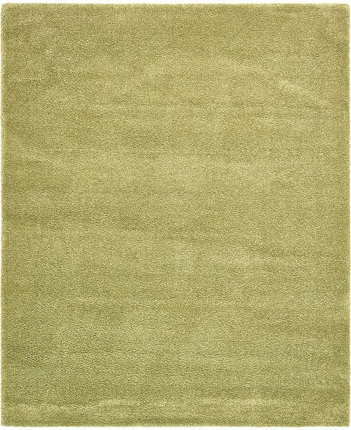 Bridgeport Home Uno Uno1 Light Green 8' x 10' Area Rug