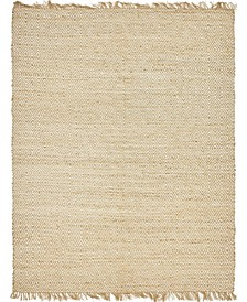 Braided Tones Brt3 Natural/White 8' x 10' Area Rug
