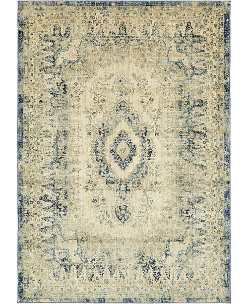 Bridgeport Home Masha Mas5 Beige 7' x 10' Area Rug
