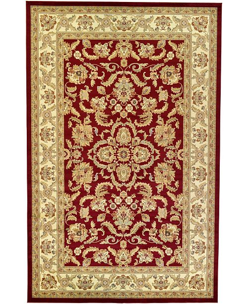 "Bridgeport Home Passage Psg5 Red 10' 6"" x 16' 5"" Area Rug"