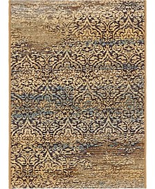 "Bridgeport Home Pashio Pas5 Beige 2' 2"" x 3' Area Rug"
