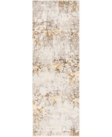 "Haven Hav1 Beige 2' 2"" x 6' Runner Area Rug"