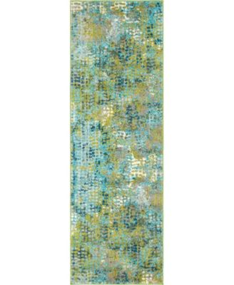 Crisanta Crs4 Green 9' x 12' Area Rug
