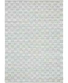 Jari Checkered Jar2 Ivory 9' x 12' Area Rug