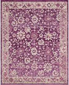 Lorem Lor3 Purple 8' x 10' Area Rug