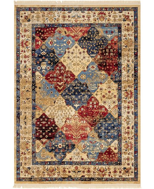 Bridgeport Home Borough Bor6 Multi 7' x 10' Area Rug
