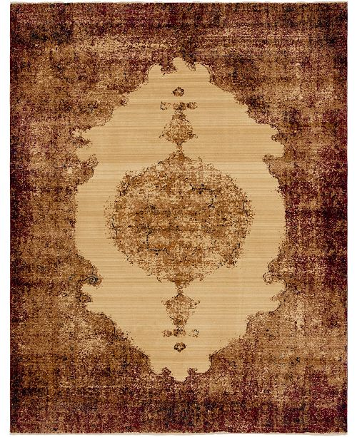 Bridgeport Home Thule Thu2 Red 9' x 12' Area Rug