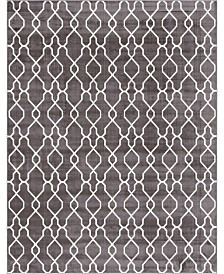 Bridgeport Home Pashio Pas8 Dark Gray 9' x 12' Area Rug