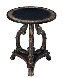CLOSEOUT! Butler Lafayette Stone Accent Table, Quick Ship