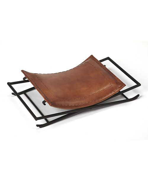 Butler Specialty Butler Melton Leather Stool