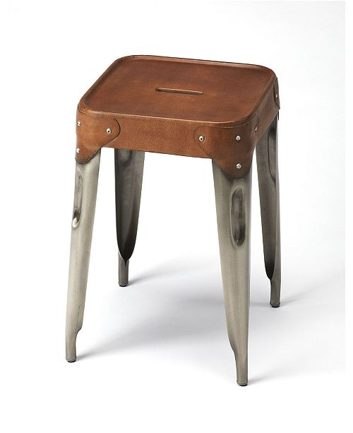 Butler Specialty Butler Connor Leather Centre Stool