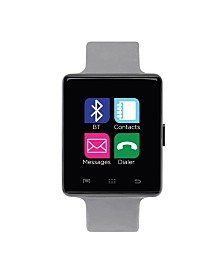 iTouch Air Smartwatch 45mm Black Case with Gray Strap