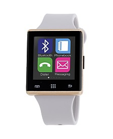 iTouch Air Smartwatch 41mm Gold Case with Gray Strap