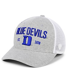 Top of the World Duke Blue Devils Notch Heather Trucker Cap