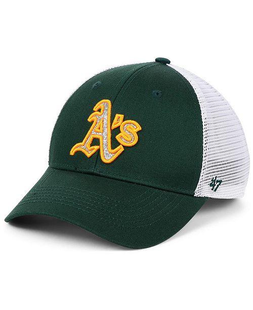 d1e259d4024ba ...  47 Brand Women s Oakland Athletics Branson Glitta Trucker Strapback ...