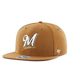 '47 Brand Milwaukee Brewers Carhartt CAPTAIN Cap