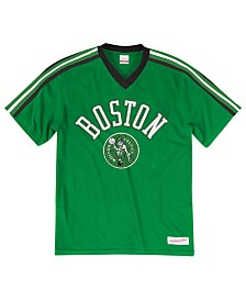 Mitchell & Ness Men's Boston Celtics Overtime Win V-Neck T-Shirt