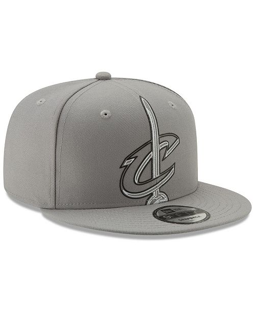 pretty nice 4d482 c6bd9 ... New Era Cleveland Cavaliers Light It Up Gray 9FIFTY Snapback Cap ...