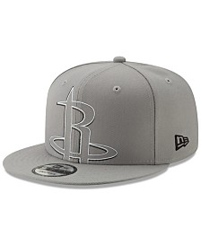 New Era Houston Rockets Light It Up Gray 9FIFTY Snapback Cap