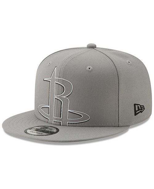 best sneakers 5a23c 91c10 ... New Era Houston Rockets Light It Up Gray 9FIFTY Snapback Cap ...